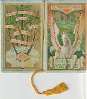 14-Calandarietto Barbiere 1965-La Fauna-Assuntore D' Arrigo Francesco-S.T.C. Caserta - Calendari