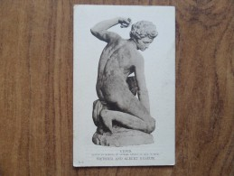 42898 POSTCARD: V & A MUSEUM: CUPID: Statue In Marble, By Michael Angelo. - Museum
