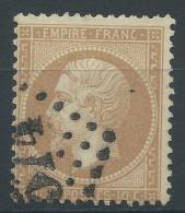 Lot N°27700   N°21, Oblit GC 574 BOURGES (17), - 1862 Napoléon III