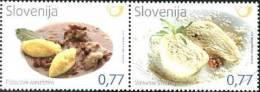 2014 SLOVENIA Gastronomy. Pair Of 2v X0.77 - Slovenia