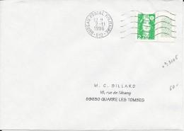 1996 - ENVELOPPE Du BPM 512 Avec MECA - Marcophilie (Lettres)
