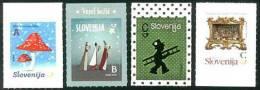 2014 SLOVENIA Christmas 2014, NYr. 4v: ABCC - Slovenia