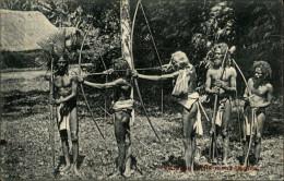 SPORTS - TIR A L´ARC - Guerriers - Ceylan - Sri-Lanka - Tir à L'Arc