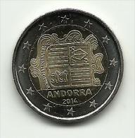 2014 - Andorra 2 Euro, - Andorra
