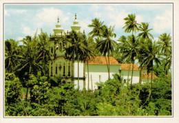 RECIFE  IL PARCO GUARAPES E LA CHIESA      (NUOVA CON DESCRIZIONE DE POSTO SUL RETRO) - Recife