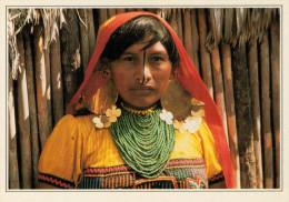 ISOLE DI SAN BLAS: INDIANA  CUNAS      (NUOVA CON DESCRIZIONE DE POSTO SUL RETRO) - Panamá