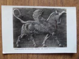 42906 PC: MUSEE DE LOUVRE: - Taureau  Aile _ Epoque Achemenide. - Museum