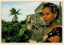 BELIZE   RITRATTO  DI  DONNA     (NUOVA CON DESCRIZIONE DE POSTO SUL RETRO) - Belize