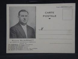 FRANCE - Mr SUARNET Des écrivains Combattants Et Célèbre Pour Son Catalogue De Variétés Sur Les Bleus ... - LOT P2781 - France