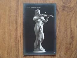 "42910 POSTCARD: Delaplanche: ""MUSIC HATH CHARMS"". - Museum"