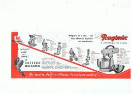 LE BATTEUR  MALAXEUR  PEUGIMIX ET MOULIN A CAFE ELECTRIQUE PEUGEOT   RECTO VERSO - Vieux Papiers