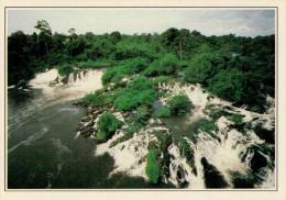 CAMERUN:  LE CASCATE  DEL LOBE'     (NUOVA CON DESCRIZIONE DE POSTO SUL RETRO) - Camerun