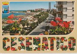 36962- SEA, TREES , ROADAND AND  BUILDINGS   CESENATICO ITALY POSTACARD - Forlì