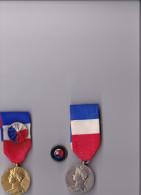 Medaile Du Travail 25 Et 35 Ans - Transports