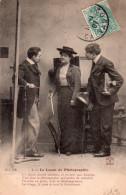 Cpa  Bergeret Nancy , La Lecon De Photographie - Femmes