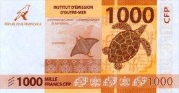 Nouvelle Calédonie - 1000 FCFP - 2014 / Signatures Noyer-de Seze-La Cognata - Neuf  / Jamais Circulé - Nouméa (Nuova Caledonia 1873-1985)
