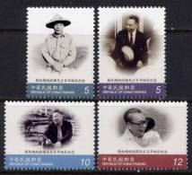 FORMOSE -TAIWAN 2009 - 100e Ann Du Président Chiang-Kuo - 4v Neufs // Mnh - 1945-... République De Chine