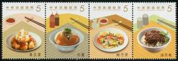 TAIWAN 2013 - Cuisine Taïwanaise II - 4val Neuf // Mnh - Neufs