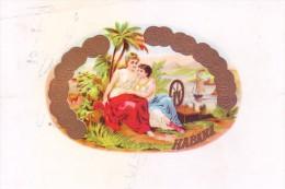 ADVERTISEMENT LABEL - HABANA - Hotel Labels