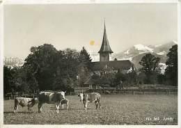 Suisse -gd Format Div- Ref M761- Aeschi  -carte Bon Etat - - Suisse