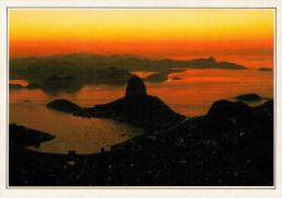 RIO DE JANEIRO  LA BAIA DI GUANABARA    (NUOVA  CON DESCRIZIONE DEL LUOGO SUL RETRO) - Altri