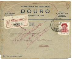 1947 -  Porto - Gondomar - Companhia De Seguros Douro - 1 Escudo - 1910-... République