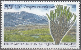 TAAF 2001 Yvert 293 Neuf ** Cote (2015) 13.50 Euro Flore Antarctique Bryum Laevigatum - Neufs