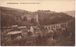 REMOUCHAMPS (4920) Panorama Et Pont Du Chemin De Fer - Aywaille