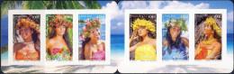 Polynésie 2013 - Neuf MNH ** - Carnet Vahiné De Polynésie - 2 Scans - Markenheftchen