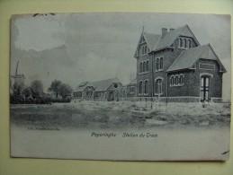 Poperinghe Station du Tram (Poperingen tram statie) naar Wizernes Pas-de-Calais Fr.