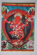 MONGOLIA -  Guha-Zanyana-Dagi - Silk Appliqué 19th. Century - Demon - Mongolie