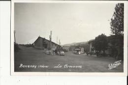 Bessenay  69    La Brevenne--Route Animée-Café Et Restaurant Et Voitures - France
