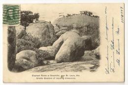 S2682 - Elephant Rocks At Granitville Near St Louis - St Louis – Missouri