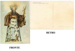 CU – CARTOLINA S. CIRO MARTIRE BASILICA DEL CARMINE MAGGIORE NAPOLI NON VIAGGIATA  DIMENSIONI CM 10x14,9 CONDIZIONI DISC - Santi