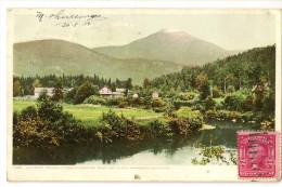 S2694 - Whiteface Mountain From Wilmington Road. Lake Placid. Adirondack Mountains - Adirondack