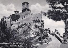 CPSM 10X15 . Repubblica S. MARINO . Seconda Torre - San Marino