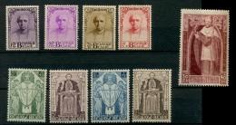 1932 Cardinal Mercier 342/350 **  Luxe Postfrich    Cote  1300 E - Belgique