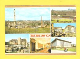 Postcard - Czech, Češka, Brno, Stadium     (V 24350) - Czech Republic