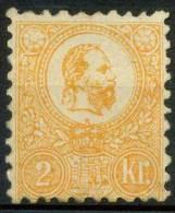 #15-02-00832 - Hungary - 1871 - SG 8 - MH - QUALITY:100% - Neufs