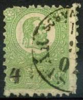#15-02-00850 - Hungary - 1871 - SG 9 - US - QUALITY:20% - Repaired - Mi. 2 - Oblitérés