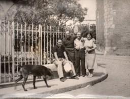 51Au   Grande Photo Un Nageur Du CNM à Marseille à Situer Avec Ses Parents - Natation