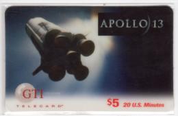 ETATS UNIS Remote GTI 1995 ESPACE APOLLO 13 - Astronomie