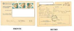 GC – AVVISO DI RICEVIMENTO O DI RISCOSSIONE 20 MAGGIO 1981 DICITURA NATO 1-1-1918 MORTO 17-5-78 DIMENSIONI CM 10,5x14,7 - Materiale E Accessori