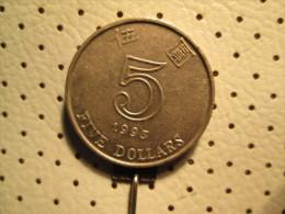 HONG KONG 5 Dollar 1993   # 1 - Hong Kong