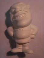 1 FIGURINE FIGURE DOLL PUPPET DUMMY TOY IMAGE POUPÉE - SHREK WHITE MONOCHROME NESTLE 2010 - Figurines