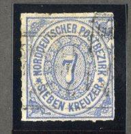 GS-1077  North Ger. Confed. 1868  Michel #10  (o)  Scott #10  ~ Offers Welcome! ~ - Conf. De Alemania Del Norte