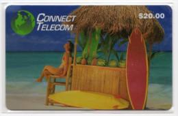 ETATS UNIS PREPAID 20$ CONNECT TELECOM Planche A Voile, Ananas Pasteque - Sonstige