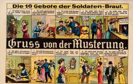 1904 D. Reich, MILITARIA, BESSERE Karte. MK - Deutschland