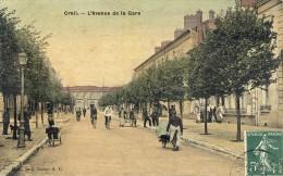 60)     CREIL   -  L´Avenue De La    Gare - Creil