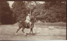 Guerre 1914-18 - Officier De Cavalerie Français à L'entrainement - War, Military